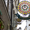The shop signs are a Salzburg tradition and many date back to Mozart's time.