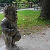 Dwarf statues in the Dwarf Garden.