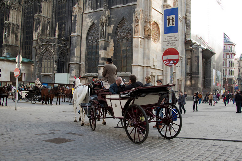 Outside St. Stephen Cathedral