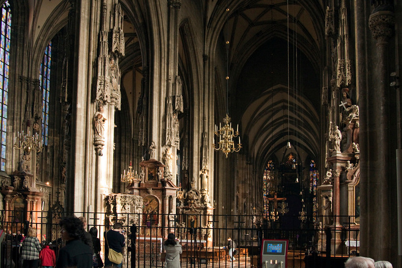Inside St. Stephen  Cathedral