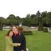 The happiest couple in the world in front of Schloss Schonbrunn gardens