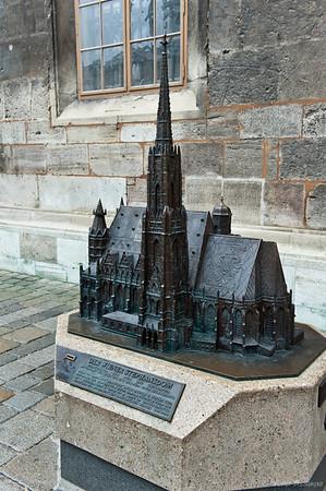 собор святого Стефана - мини копия