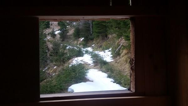A hike up an opposite hill