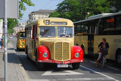 1953 Saurer, working tourist route in Salzburg