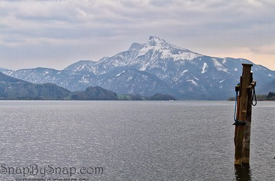 Mondsee in Winter