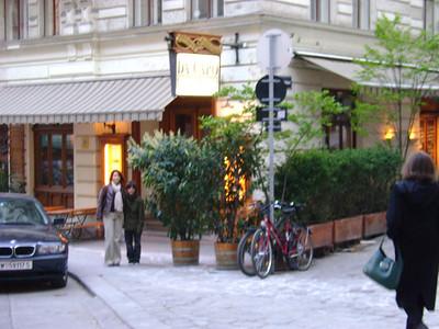 meeting Ingrid in Vienna, 2008