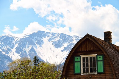 Austria Chalet with Alps