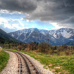 Cog Rail to the Alps