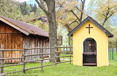 Austria Chapel with a Barn