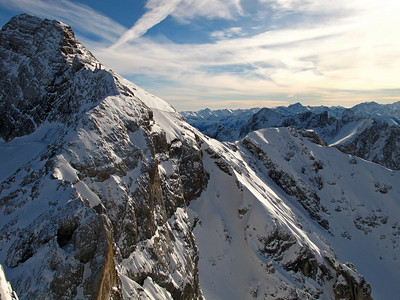 Arriving at the Dachstein glacier
