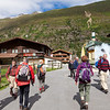The start of the walk from Obergurgl