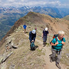 Climbing to Rotkogel