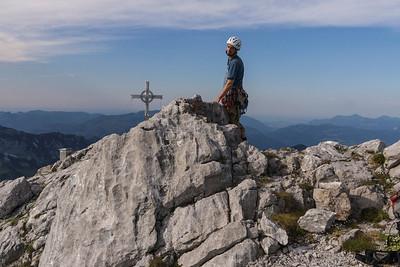 Climbing at Wilder Kaiser
