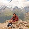 Matt on the summit