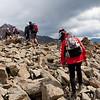 Start of the descent to Breslauer Hutte