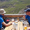 Brian & Paul viewing Kreuzspitze