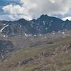 View of Kreuzspitze from the hut