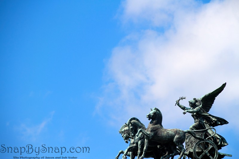 Angle and Chariot in the Sky