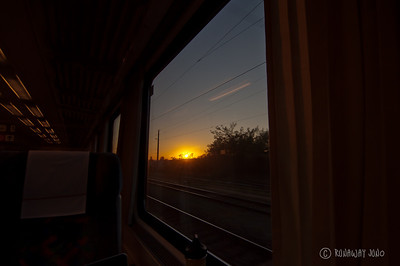 Train from Vienna to Prague