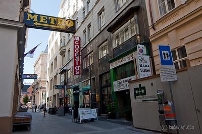 Multi-cultural street