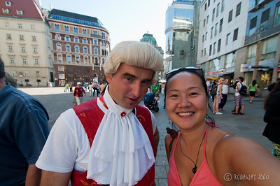 A photo with Mozart