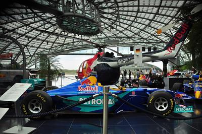 Red Bull Racing Hangar 7, Salzburg, Austria. 4.13