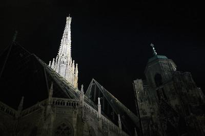St Stephens Cathedral.  Vienna, Austria.
