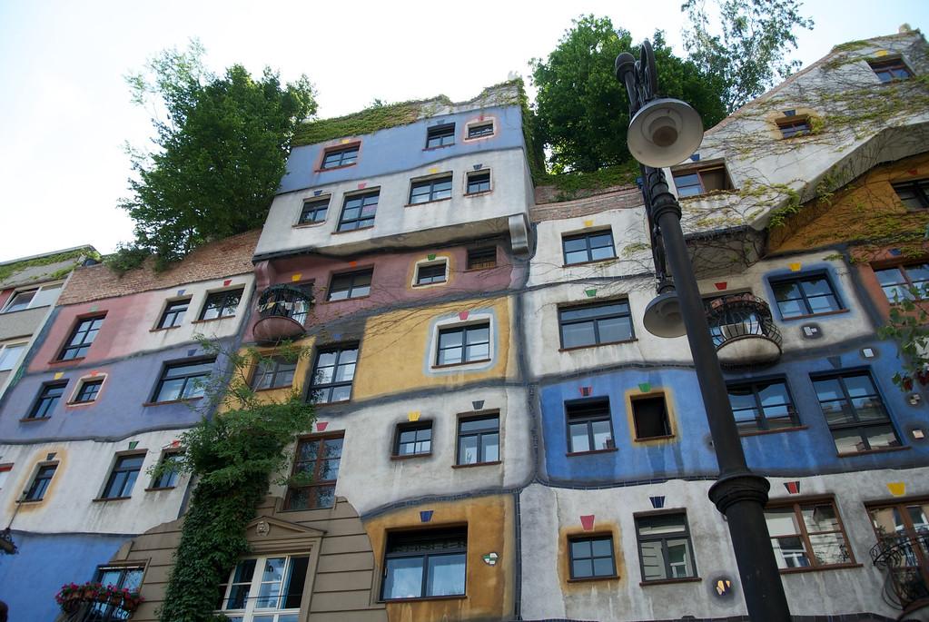 Vienna: Hundertwasser Haus