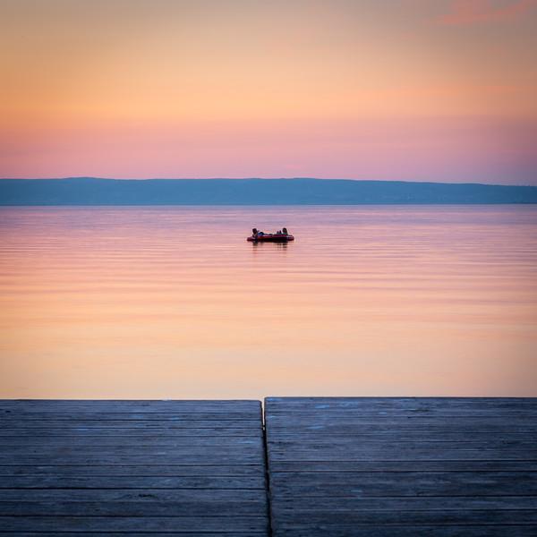 Two on lake
