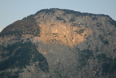 Cliff above Hallstätter See