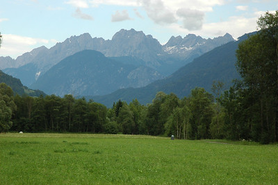 A little park north of Lienz