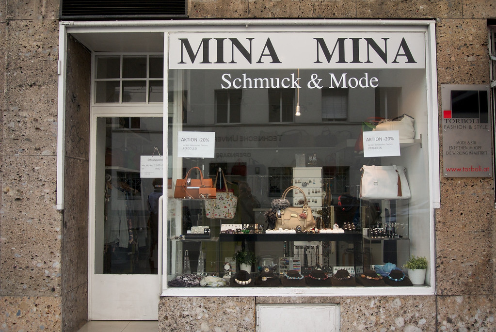 Vienna: Yiddish name for Shop?