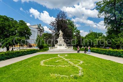 Mozart memorial