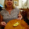 Schnitzel at Figlmuller Wollzeile