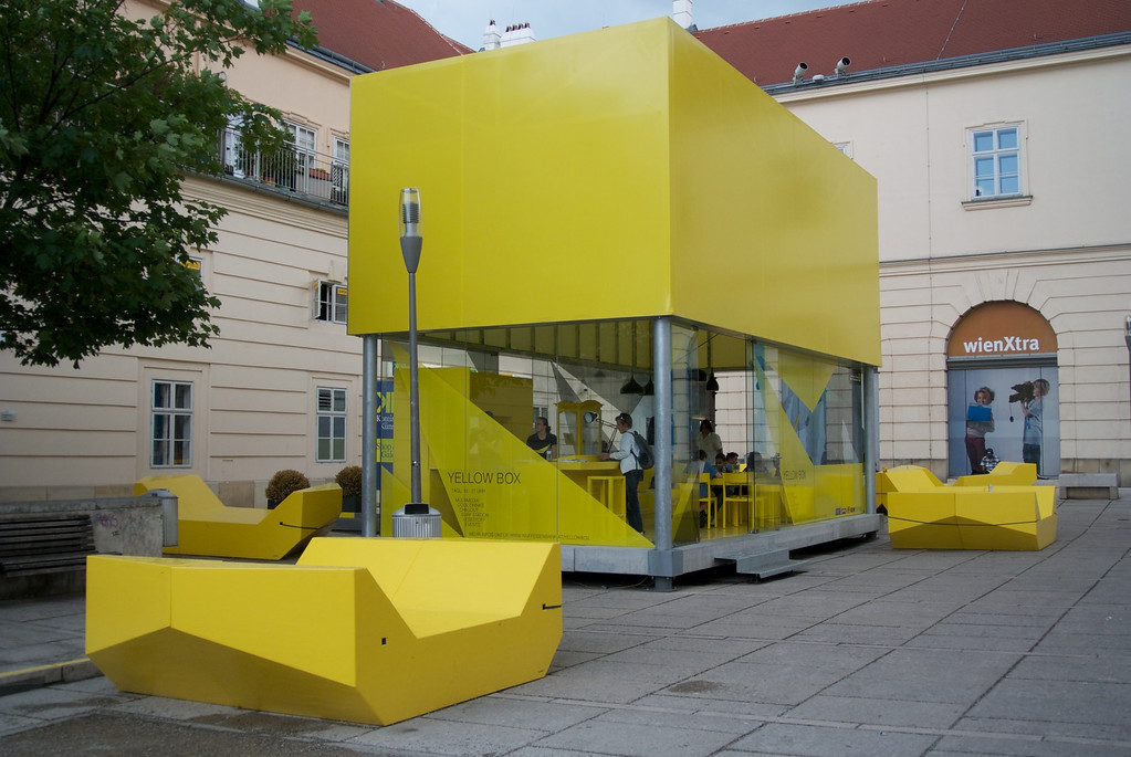 "Vienna: ""Chill room"" for teenagers at Museum Quarter"