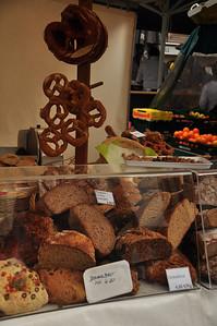 Pretzels and Breads at Open Air Market in Salzburg, Austria 4.13