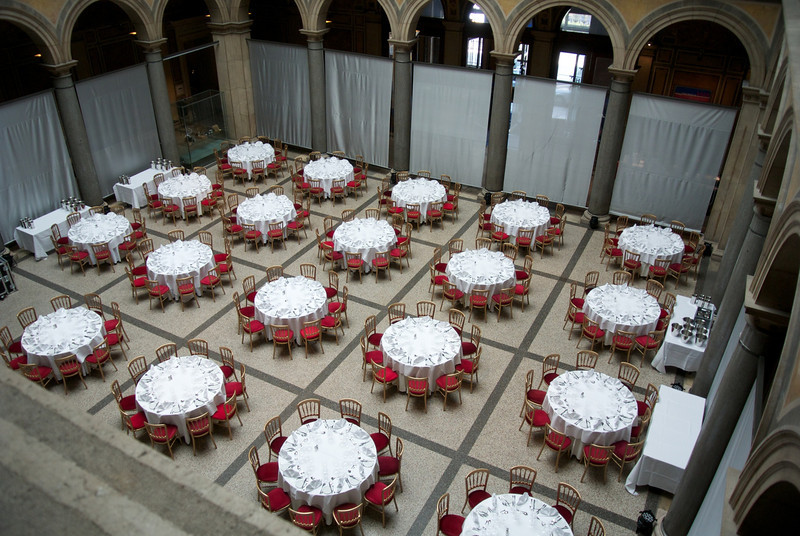 Vienna: MAK banquet hall