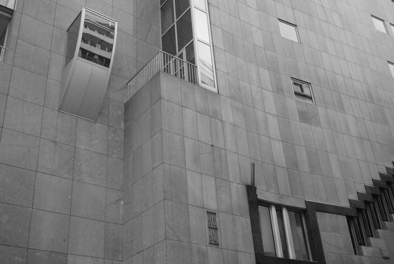 Vienna: Haas Haus detail