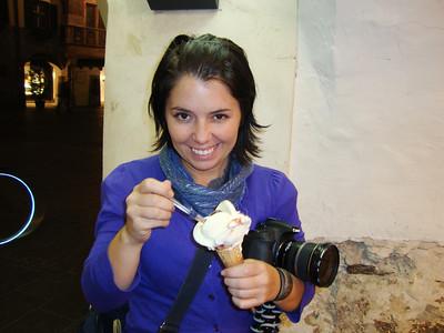 eating gelato 2