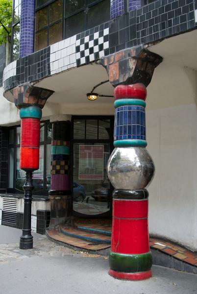 Vienna: Kunsthaus (also by F. Hundertwasser)