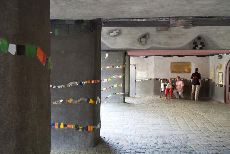 Vienna: Hundertwasser Haus (understory)