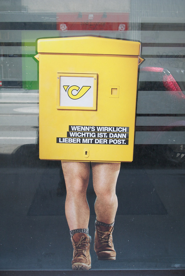 "Vienna: ""If it's important, send it by post"". 2012"