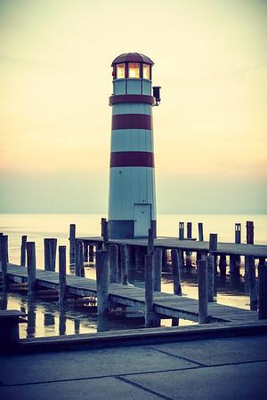 Lighthouse on Neusiedler See