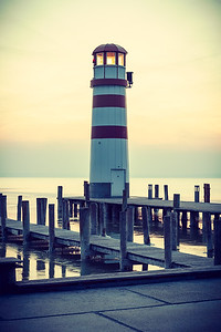 Lighthouse on Neusiedler See