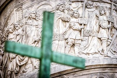 Bearing  Karlskirche, Vienna, Austria