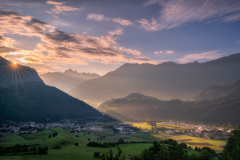 Sunrise in the Alps
