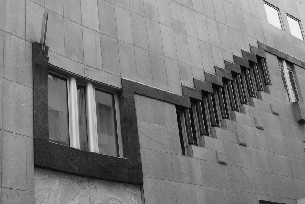 Vienna: Haas Haus window detail