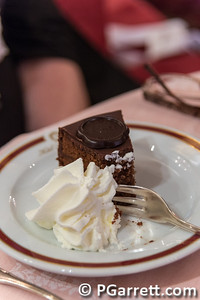 Cafe Sacher one of the famous Sacher Chocolate Torte