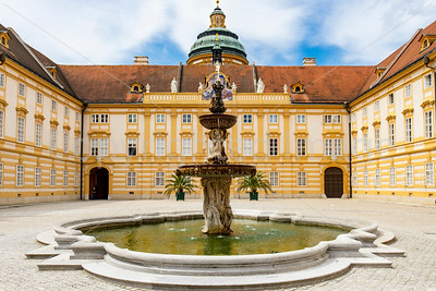 Courtyard Melk Abbey
