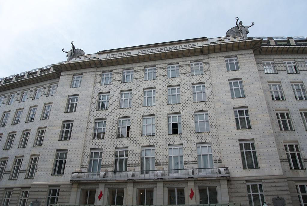Vienna: Otto Wagner's Postal Savings Bank of 1906
